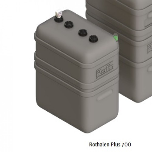 Depósito gasoil 700 litros doble pared Rothalen Plus