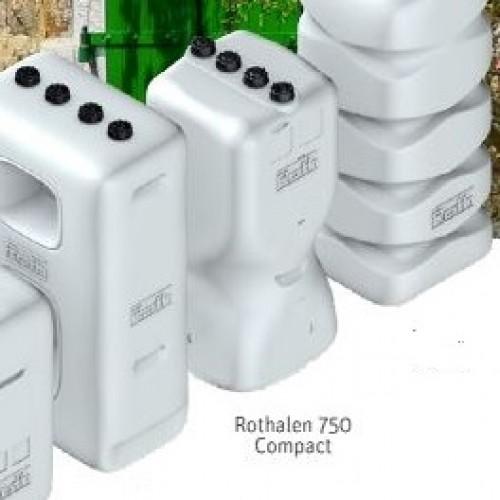 Depósito gasoil 700 litros de plástico Rothalen 750 Compact
