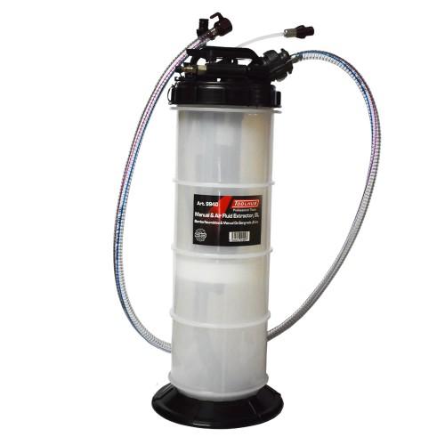 Bomba de sangrado neumática y manual 8 litros