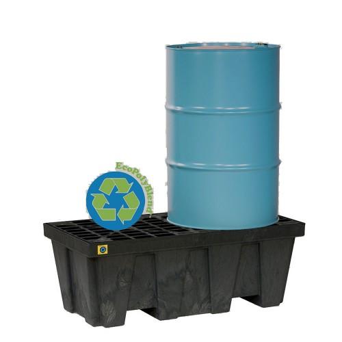 Cubeto recolector 250 litros con rejilla